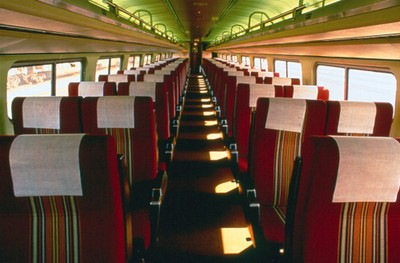 Amfleet interior