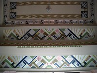 Art Deco grandeur overhead