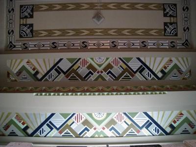 Art Deco Overhead