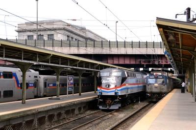 Exhibit Train at Baltimore