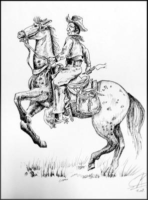 Cowboy iconic