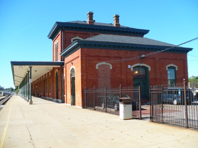 East End of Jackson Station