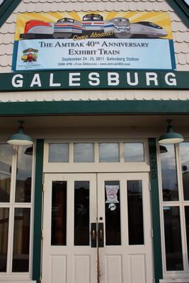 Galesburg Station Front Door