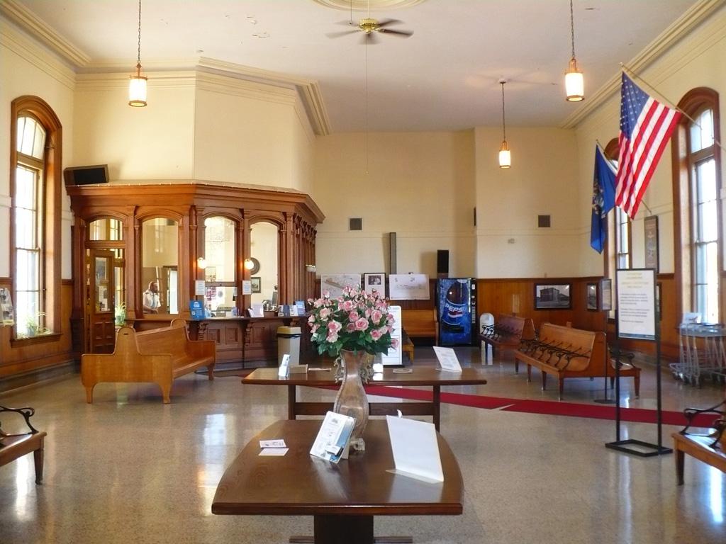 Interior of Jackson Station