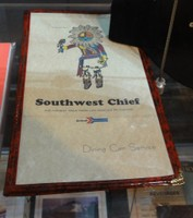 Southwest Chief classic menu