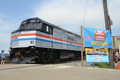 Locomotive #406 at Strasburg, Pa.