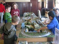 N-Scale model trains delight and amaze