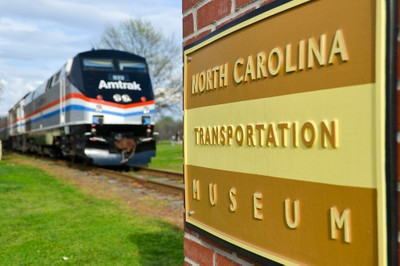 NC Transportation Museum sign