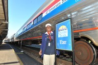 NCDOT Train Hosts generously volunteered