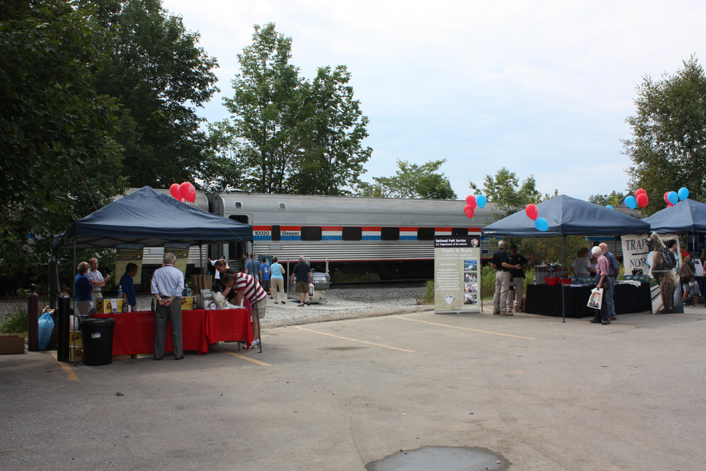 Partner Booths at the Stop