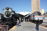 Platform photo op in LA