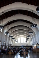 Interior of the Santa Fe station