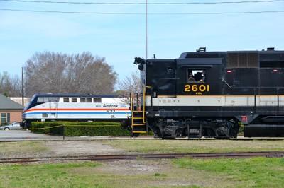 steam and diesel at NCTM