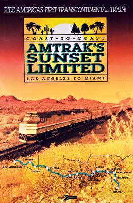 Sunset Ltd poster 1990s