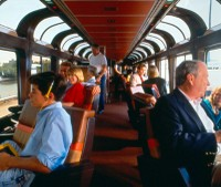 Superliner car from the 1990s
