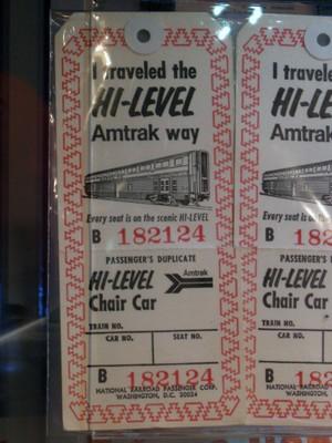 Superliner baggage tags