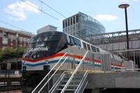 Exhibit Train at Providence, R.I.