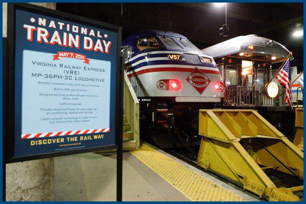 Washington-not alone on the platform