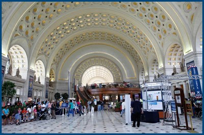 Washington-the Main Hall at Union Station